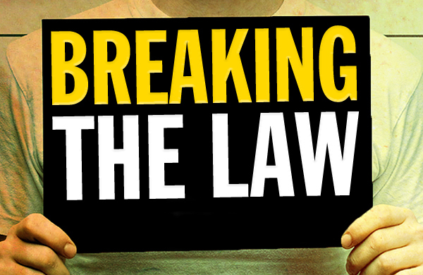 Image result for breaking the law
