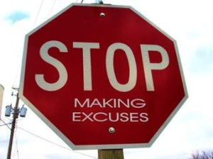 Excuses dan skognes motivation blogger speaker teacher trainer coach