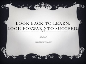 Look Back To Learn dan skognes motivation blogger speaker teacher trainer coach educator