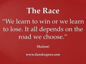 The Race dan skognes motivation blogger speaker teacher trainer coach educator